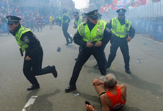 First responders (John Tlumacki, Boston Globe)